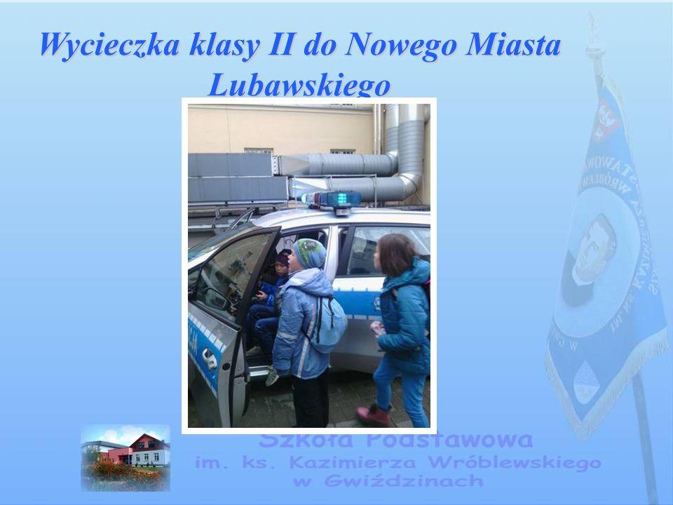 Wycieczka klasy II do Nowego Miasta Lubawskiego
