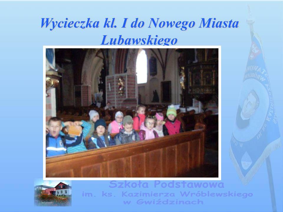 Wycieczka kl. I do Nowego Miasta Lubawskiego