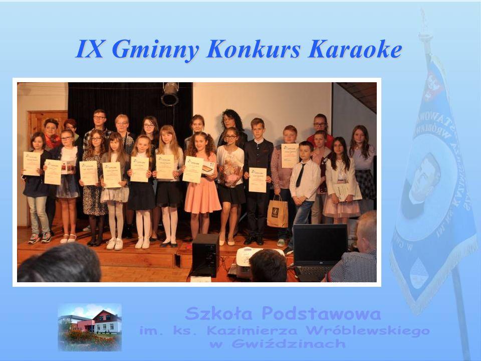 IX Gminny Konkurs Karaoke IX Gminny Konkurs Karaoke