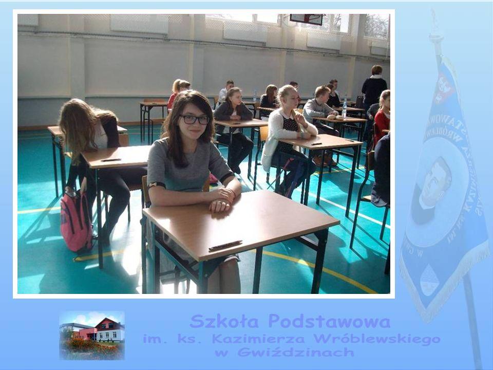 XVI Gminny Konkurs Matematyczny dla klas I - III Konkurs koordynowała pani Emilia Dembińska.