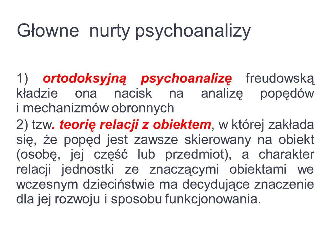 Cel Psychoanaliza dąży do przeniesienia kłopotliwych, nieuświadomionych sił do świadomości.