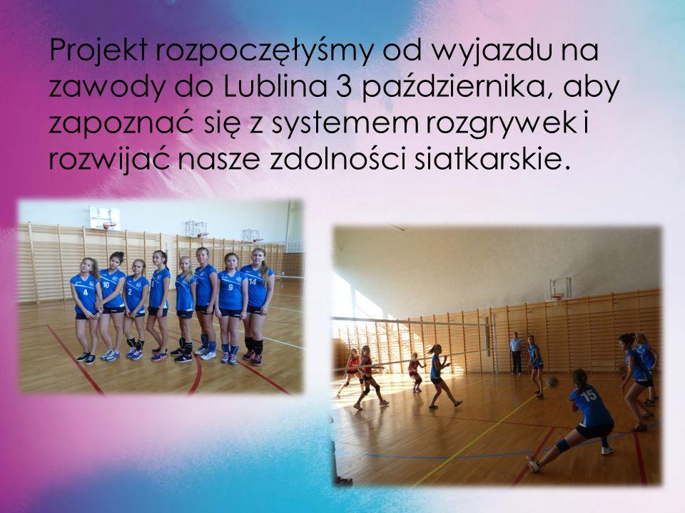 Po wysłuchaniu sposobów przekonywania młodzieży do czynnego uprawiania sportów obydwu panów wpadłyśmy na genialny pomysł, że zorganizujemy Ligę Szkolną Siatkówki.