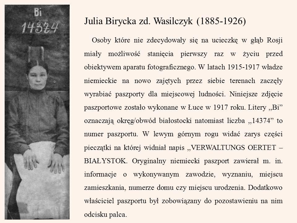 Julia Birycka zd.