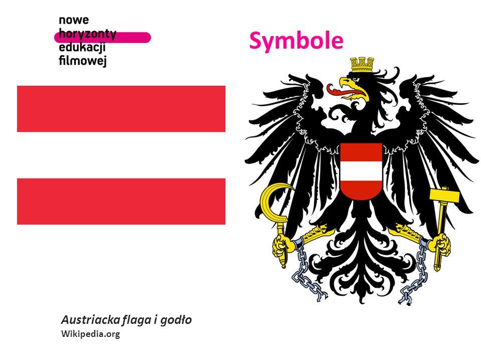 Symbole Austriacka flaga i godło Wikipedia.org