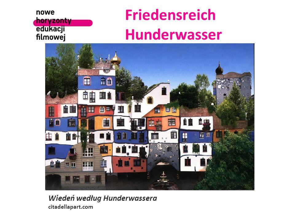 Friedensreich Hunderwasser Wiedeń według Hunderwassera citadellapart.com