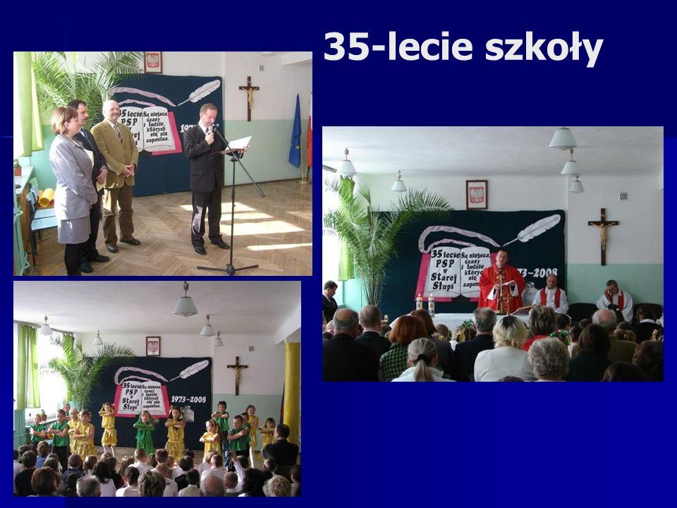 Wizytacja kanoniczna ks. Biskupa Krzysztofa Nitkiewicza w PSP w Starej Słupi.