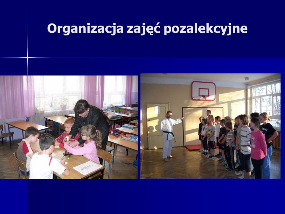 Organizacja zajęć pozalekcyjne