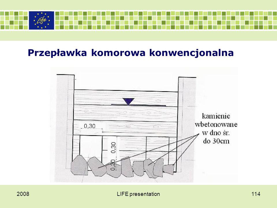 Przepławka komorowa konwencjonalna 2008LIFE presentation114