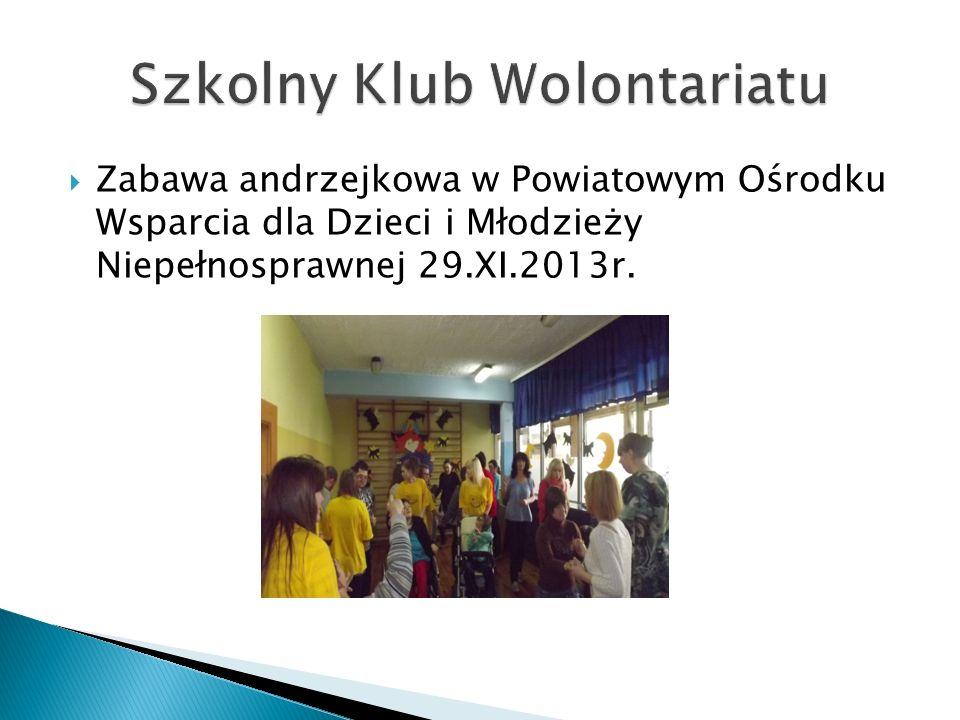""" Ogólnopolski projekt – """"Szlachetna Paczka 07.XII.2013r."""