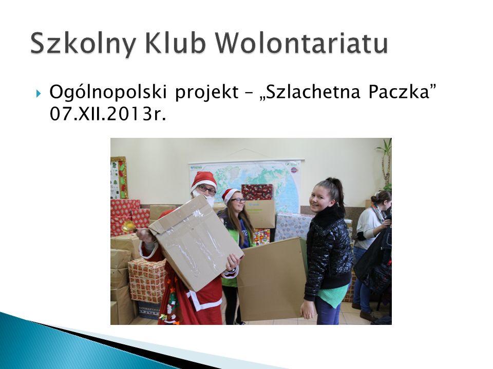  Dom Pomocy Społecznej – życzenia świąteczne, kolędowanie z zespołem wokalno-instrumentalnym, słodkości dla pensjonariuszy 16.XII.2013r.