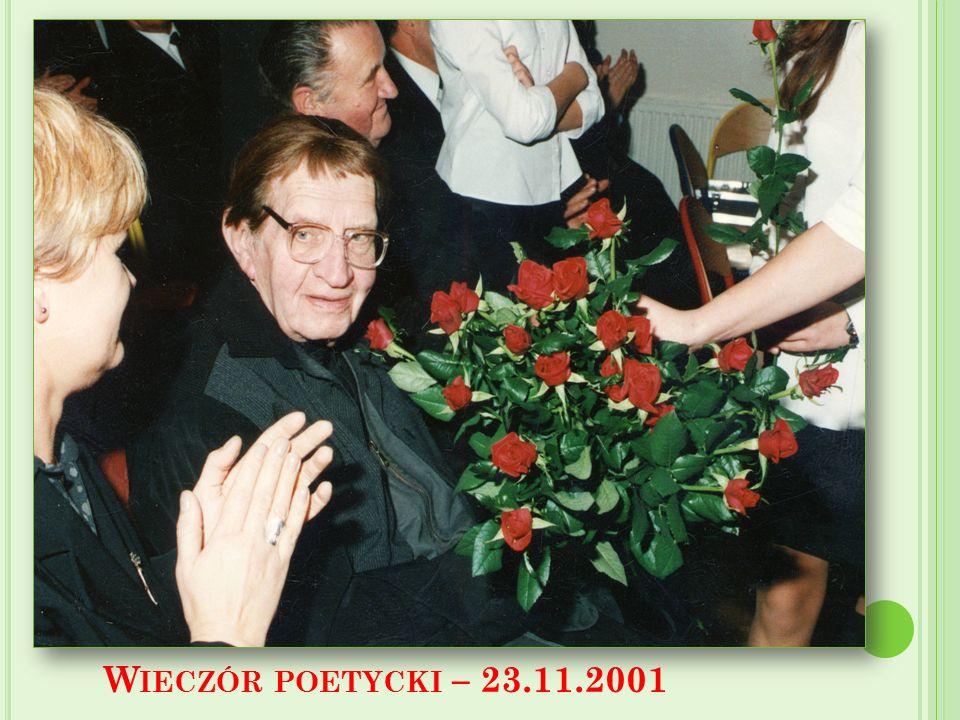 W IECZÓR POETYCKI – 23.11.2001