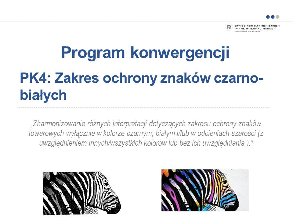 Program konwergencji: WP4.Zakres ochrony znaków czarno-białych WP4.