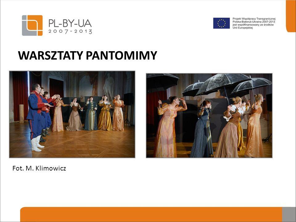 WARSZTATY PANTOMIMY Fot. M. Klimowicz
