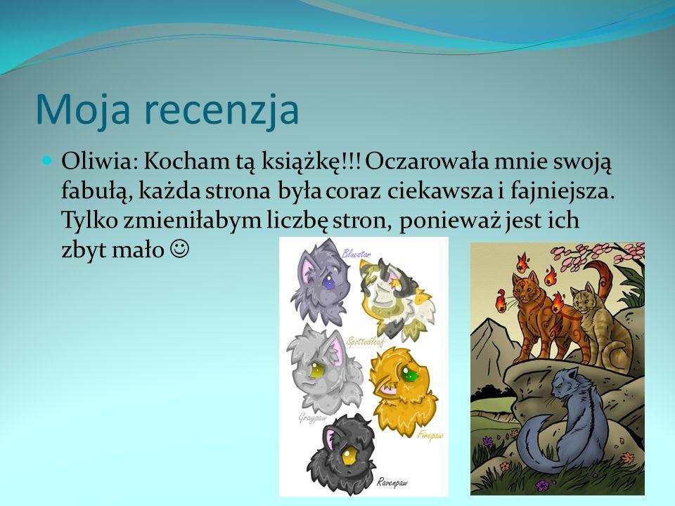 Ciekawostki Zostały wydane 24 książki serii,,Wojownicy po angielsku,a na język polski są przetłumaczone tylko dwa tomy.