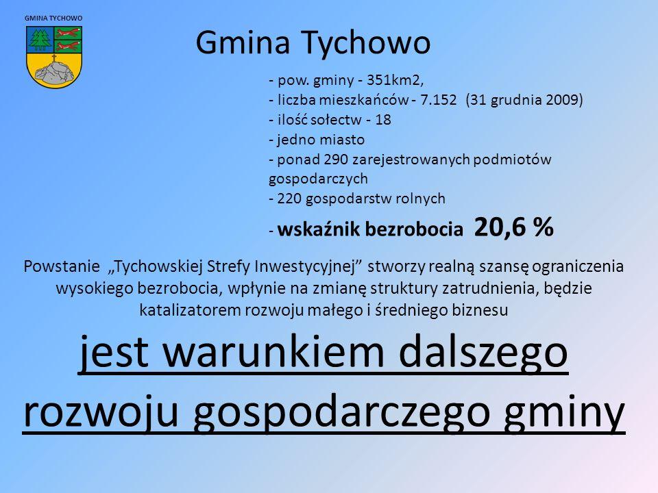 Gmina Tychowo GMINA TYCHOWO - pow.