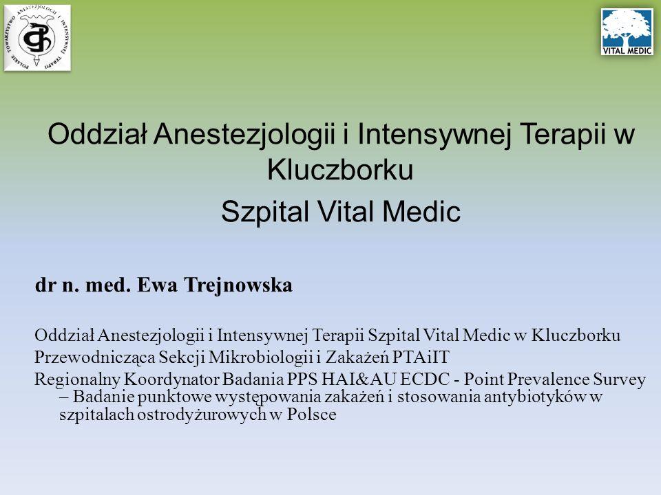 Oddział Anestezjologii i Intensywnej Terapii w Kluczborku Szpital Vital Medic dr n.
