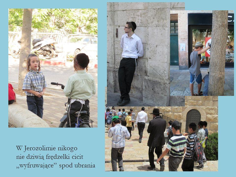 """W Jerozolimie nikogo nie dziwią frędzelki cicit """"wyfruwające"""" spod ubrania"""