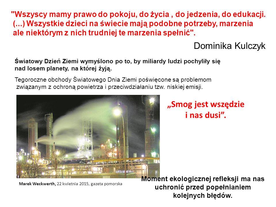 Dymy snujące się nisko nad ziemią są głównym czynnikiem zanieczyszczającym powietrze.