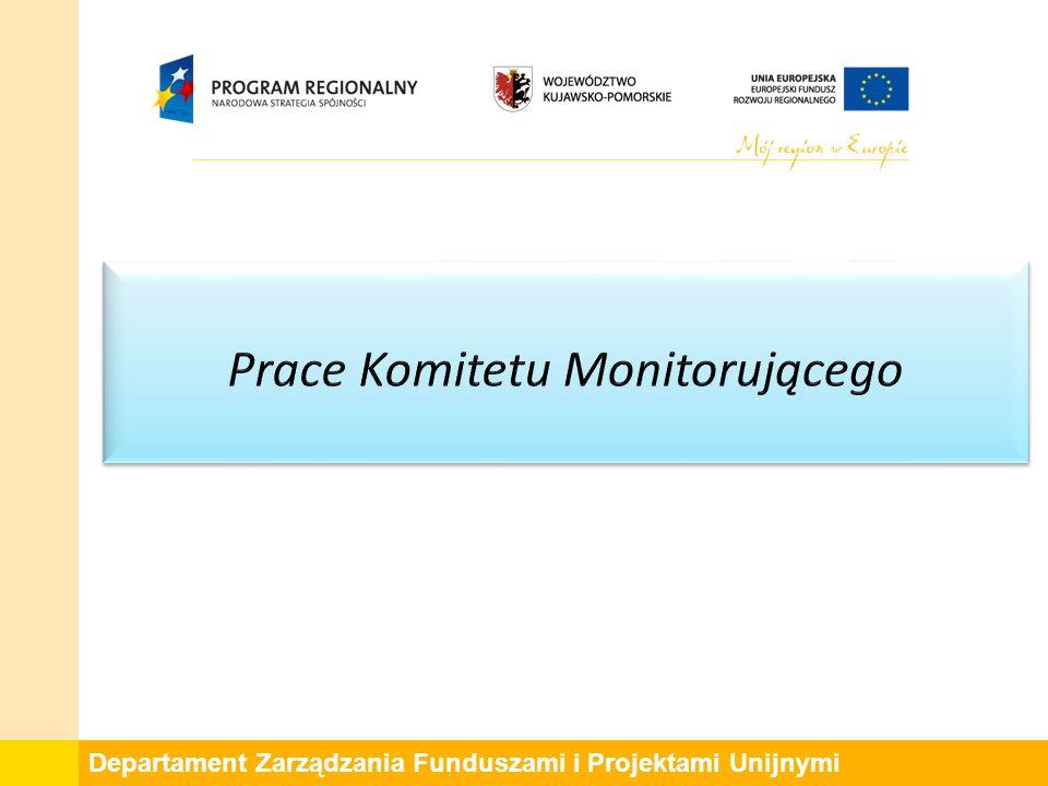 Departament Zarządzania Funduszami i Projektami Unijnymi