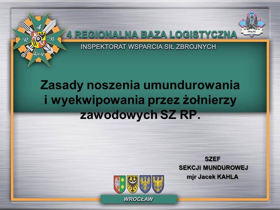 UBIORY WYJŚCIOWE Ubiór wyjściowy żołnierza zawodowego Wojsk Lądowych, z kurtką wyjściową i beretem.