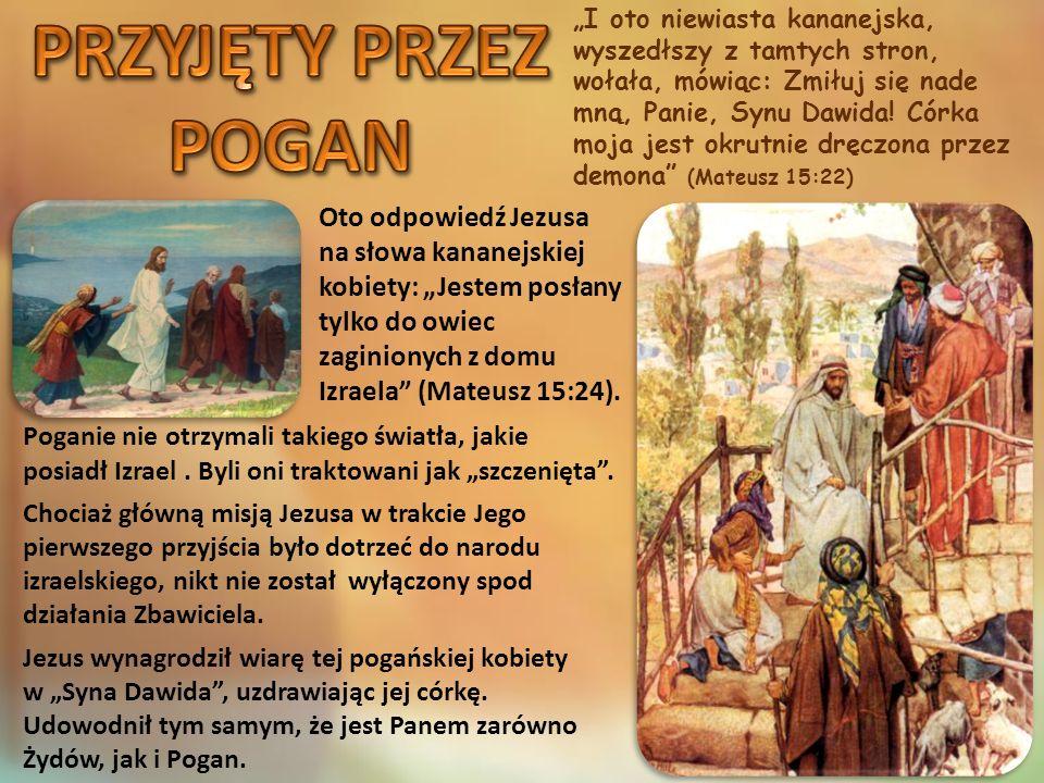 """""""Jezus powiedział im, 'Ile macie chlebów?' Odpowiedzieli, 'Siedem i kilka rybek.' […] I jedli wszyscy, i najedli się, i zebrali z pozostałych okruszyn siedem pełnych koszów.. (Mateusz 15:34.37) """"A gdy znowu wyszedł z okolic Tyru, przyszedł przez Sydon nad Morze Galilejskie środkiem ziemi Dziesięciogrodzia (Marek 7:31)."""