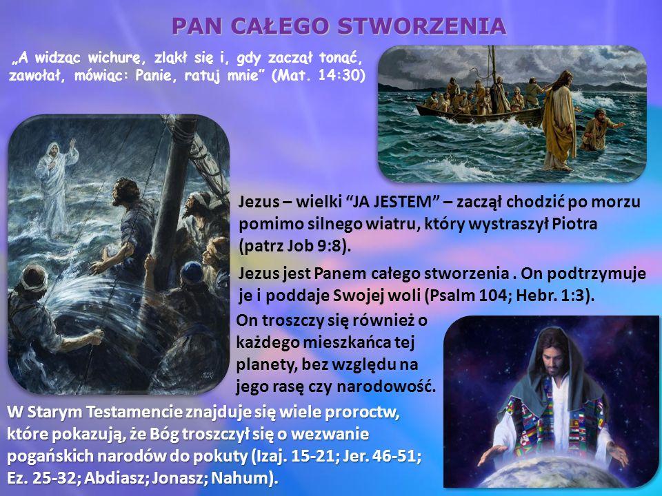 """""""Z wielkim JA JESTEM u naszego boku, płonący krzew się nie spala, Chleb Ż ycia zaspokaja wszystkie nasze potrzeby, Światłość świata utrzymuje nas z dala od ciemności, Drzwi zapewniają nam wejście do królestwa, Dobry Pasterz gwarantuje nam wieczne bezpieczeństwo, jesteśmy wszczepieni w prawdziwy Krzew Winny (2 Moj."""