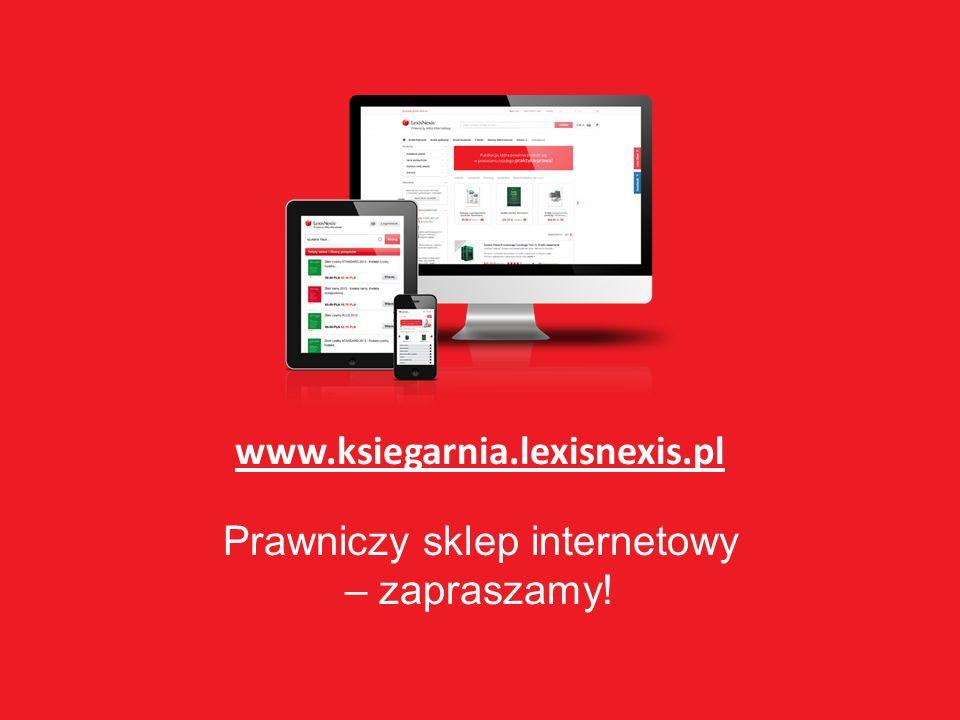 www.ksiegarnia.lexisnexis.pl Prawniczy sklep internetowy – zapraszamy!