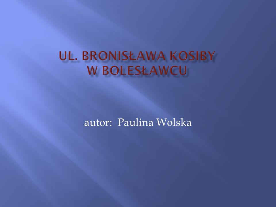 autor: Paulina Wolska