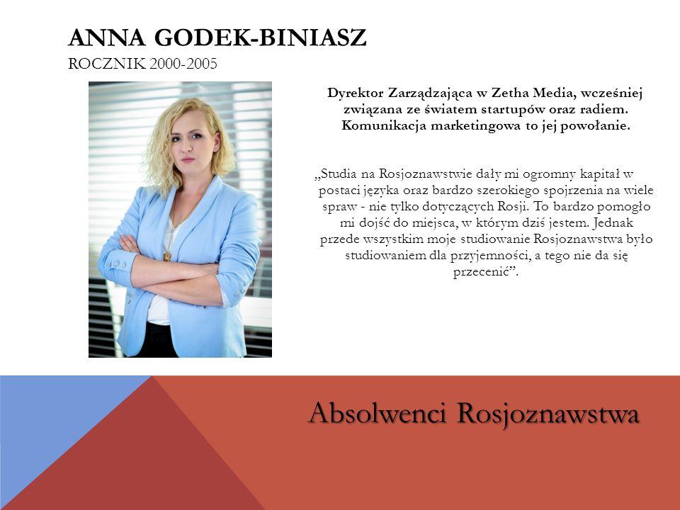 Dyrektor Zarządzająca w Zetha Media, wcześniej związana ze światem startupów oraz radiem.