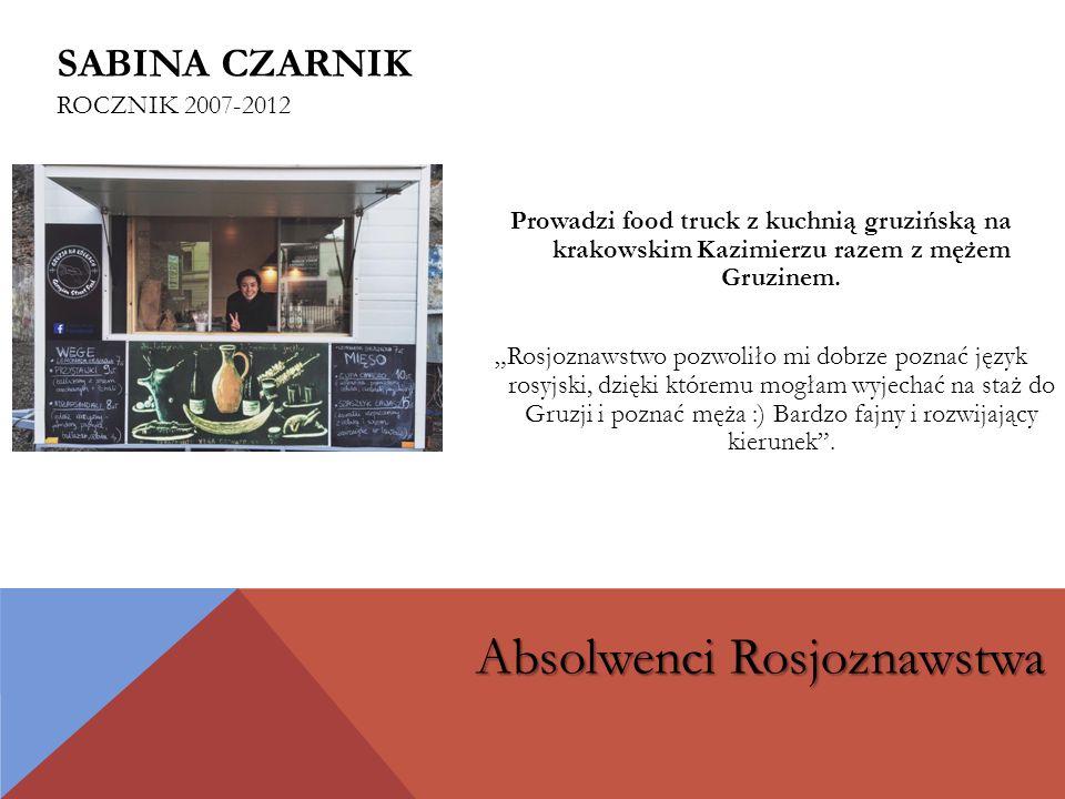Prowadzi food truck z kuchnią gruzińską na krakowskim Kazimierzu razem z mężem Gruzinem.