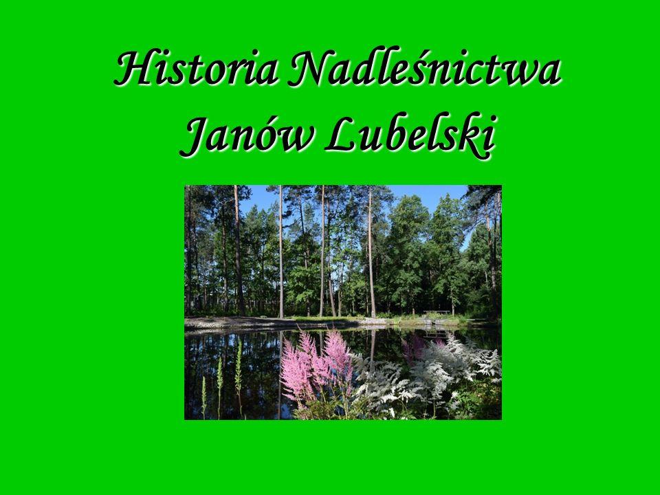 Historia Nadleśnictwa Janów Lubelski
