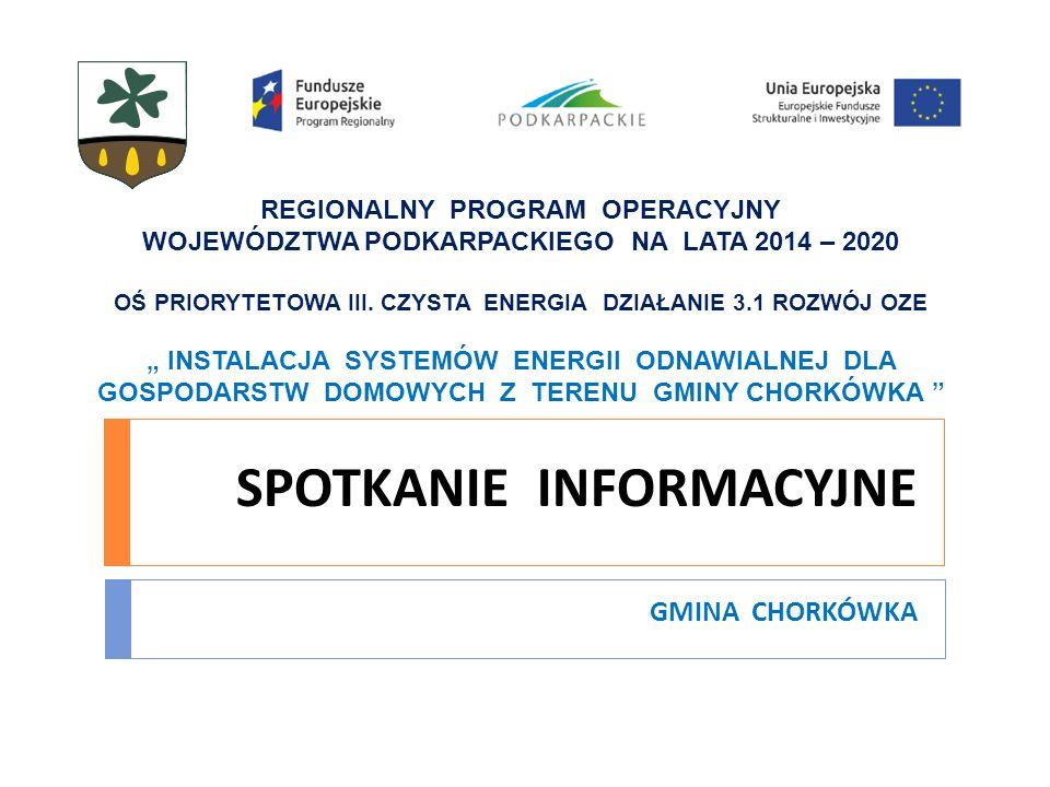 ODNAWIALNE ŹRÓDŁA ENERGII Ekosfera Energia Odnawialna Spółka z o.o.