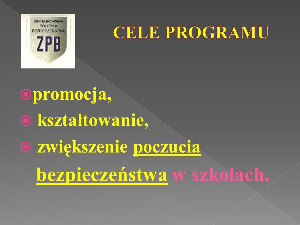 przyznawany przez: Małopolskiego Komendanta Wojewódzkiego Policji po: wnikliwej, zgodnej z regulaminem, ocenie stopnia realizacji projektu ZPB przez placówkę.