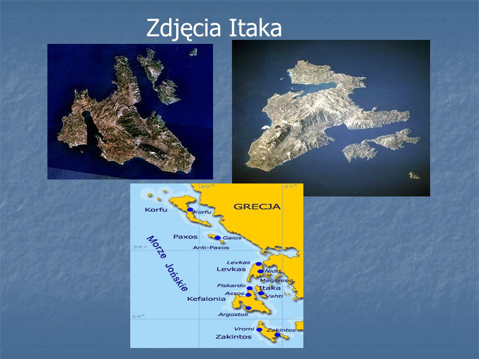 Krajobraz Itaka
