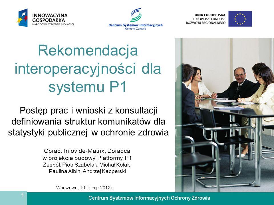 1 Warszawa, 16 lutego 2012 r.