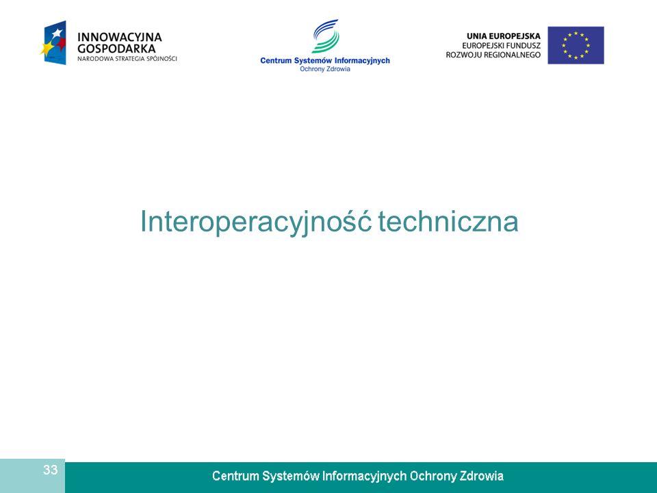 33 Interoperacyjność techniczna