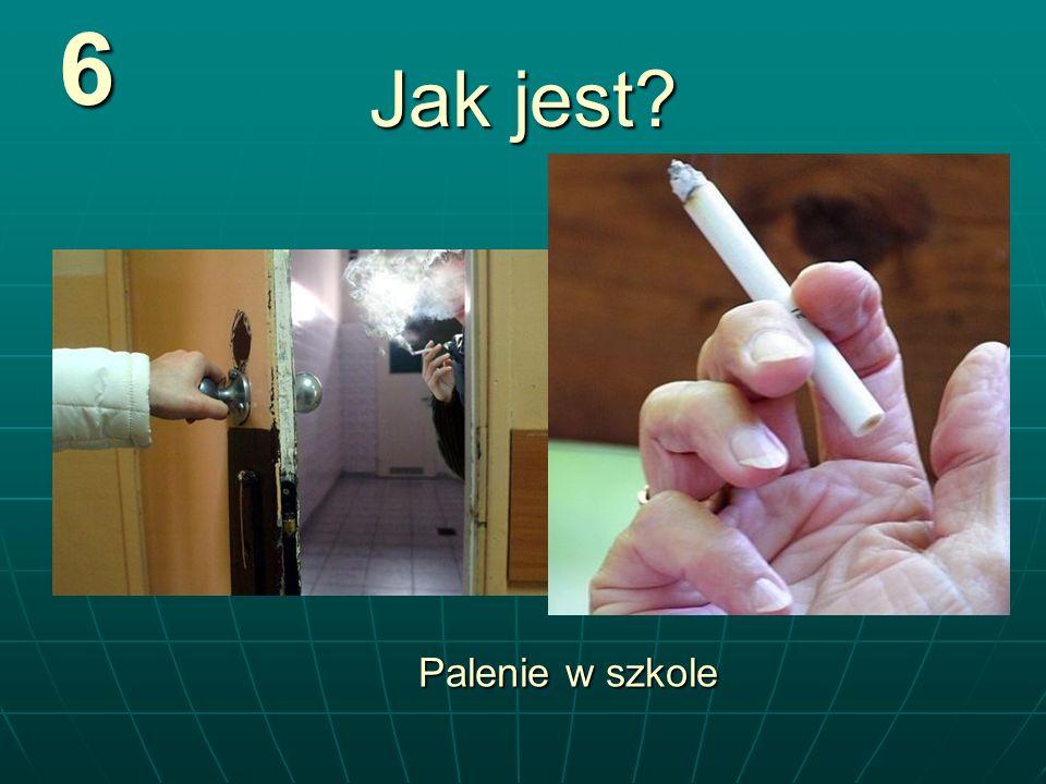 Jak jest? 6 Palenie w szkole