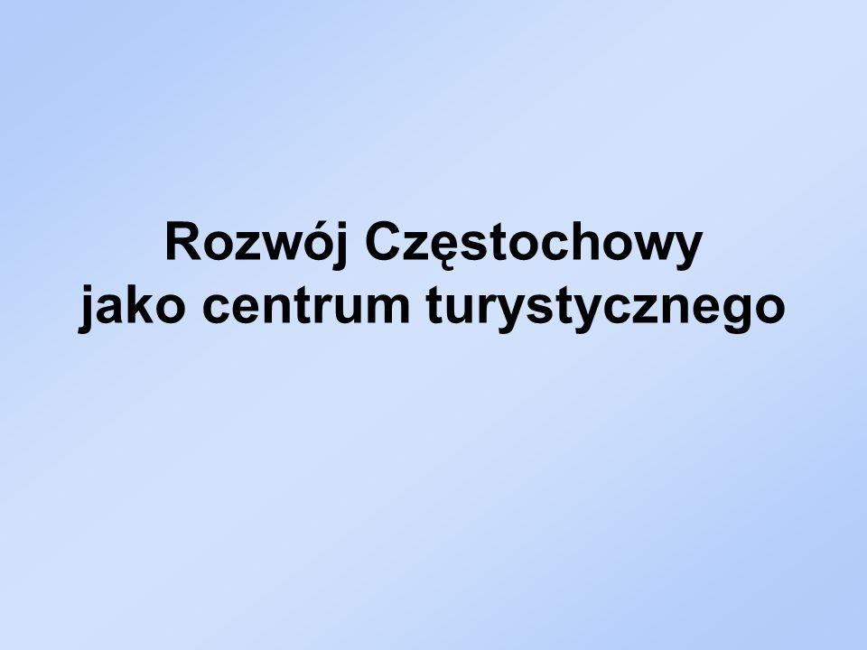 Rozwój Częstochowy jako centrum turystycznego