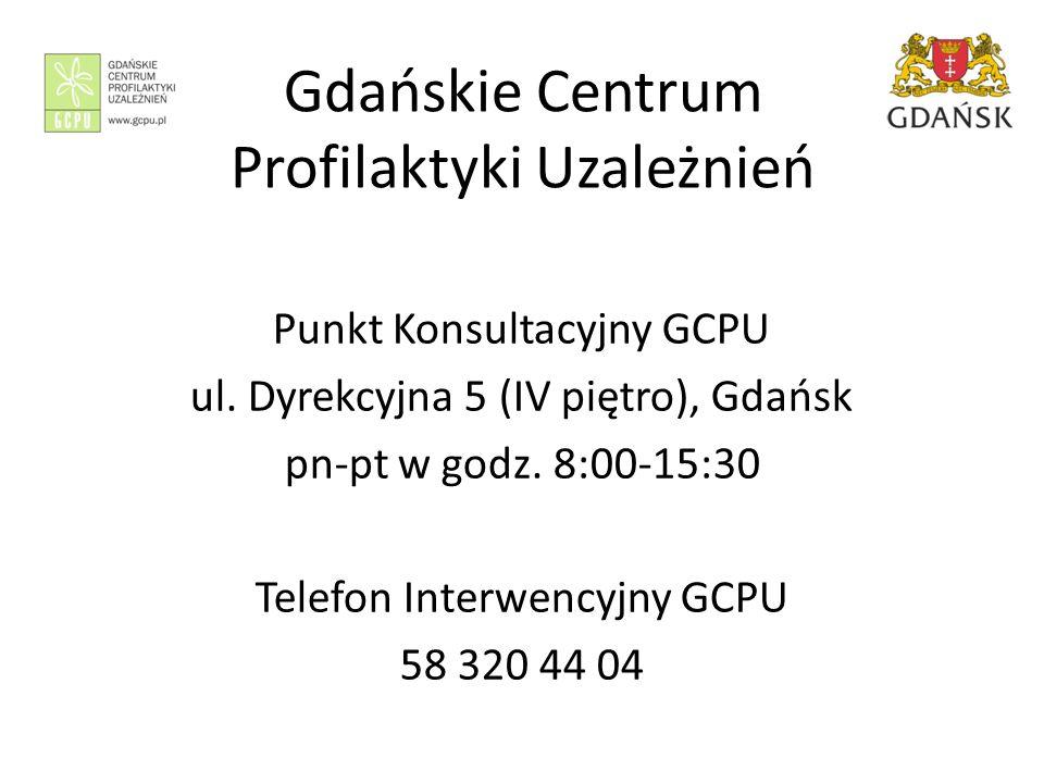 Gdańskie Centrum Profilaktyki Uzależnień Punkt Konsultacyjny GCPU ul.