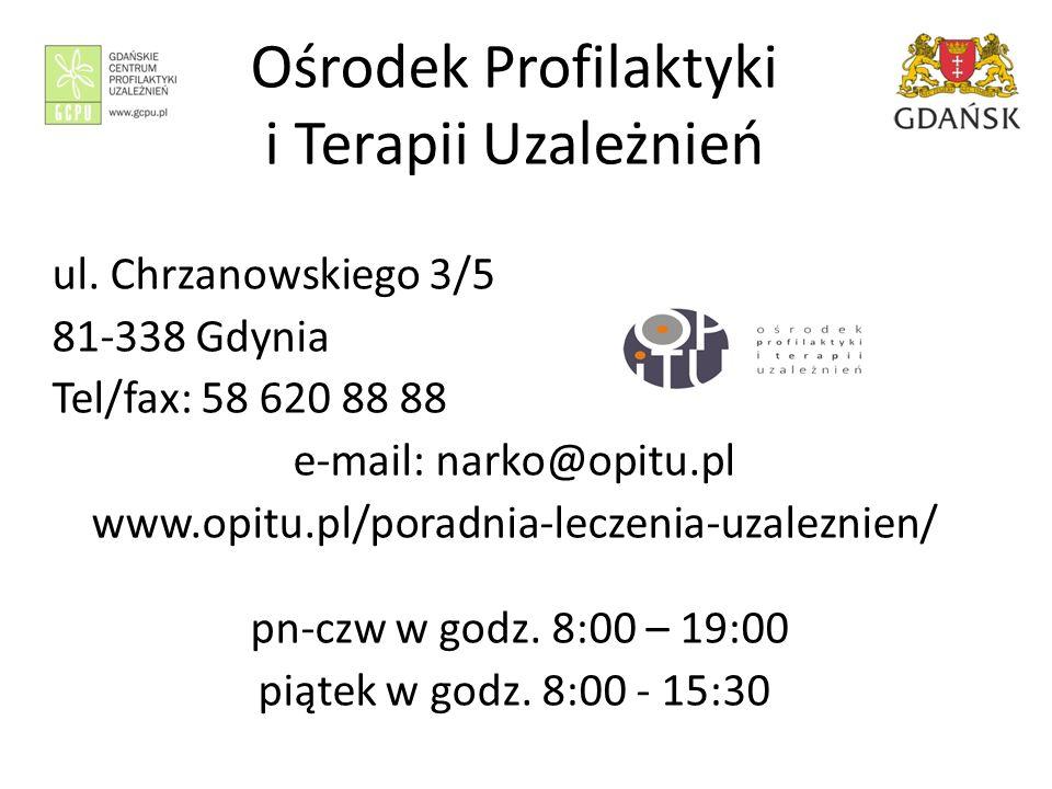 Ośrodek Profilaktyki i Terapii Uzależnień ul.