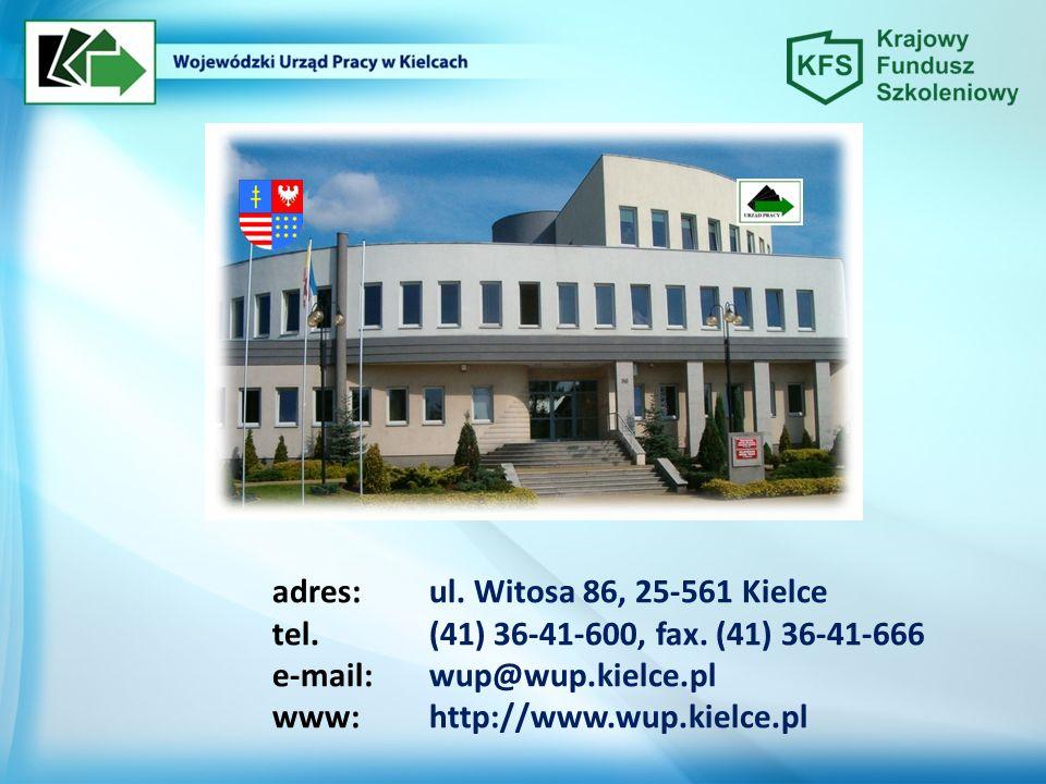 adres:ul. Witosa 86, 25-561 Kielce tel.(41) 36-41-600, fax.