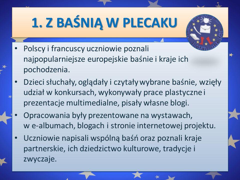 1.Z BAŚNIĄ W PLECAKU 1.