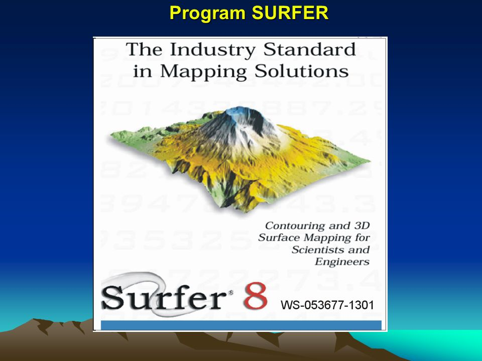 Program SURFER