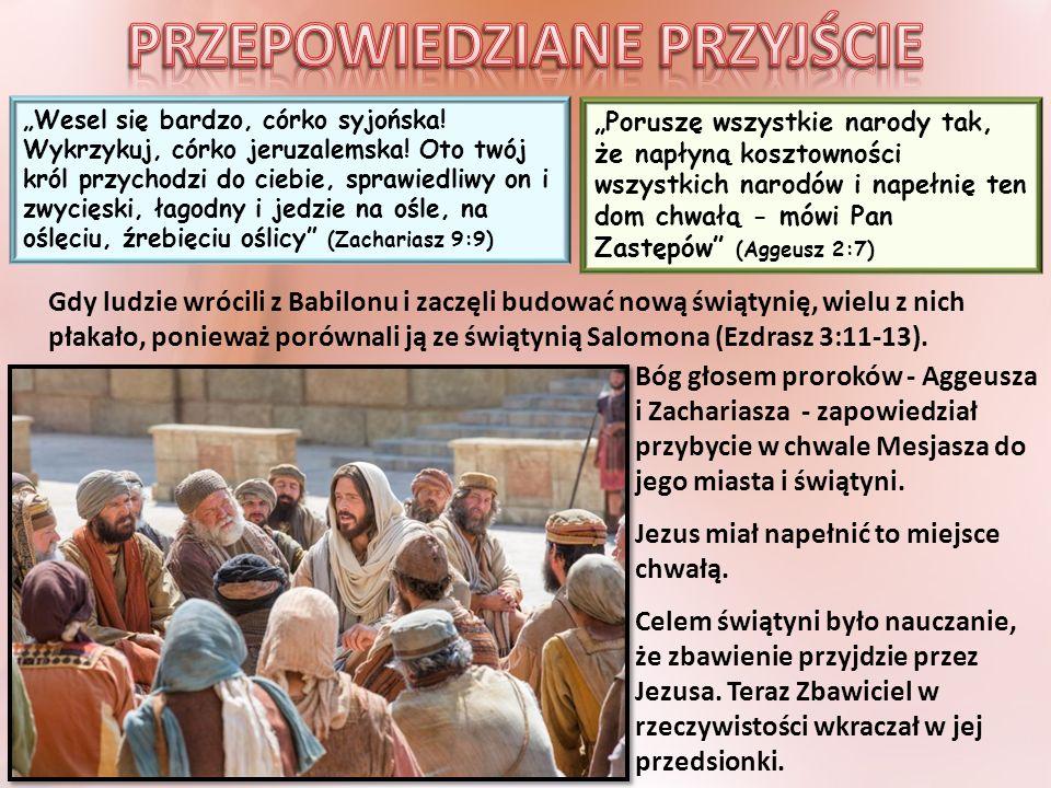 """""""Rzesze zaś mówiły: To jest prorok Jezus, ten z Nazaretu Galilejskiego (Mateusz 21:11)"""