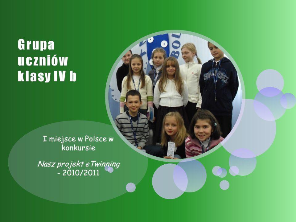 III miejsce w ogólnopolskim konkursie na stronę internetową 5 lat eTwinningu w mojej szkole - 2009/2010.