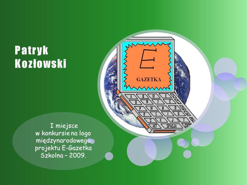 I miejsce w konkursie na logo międzynarodowego projektu E-Gazetka Szkolna – 2009.