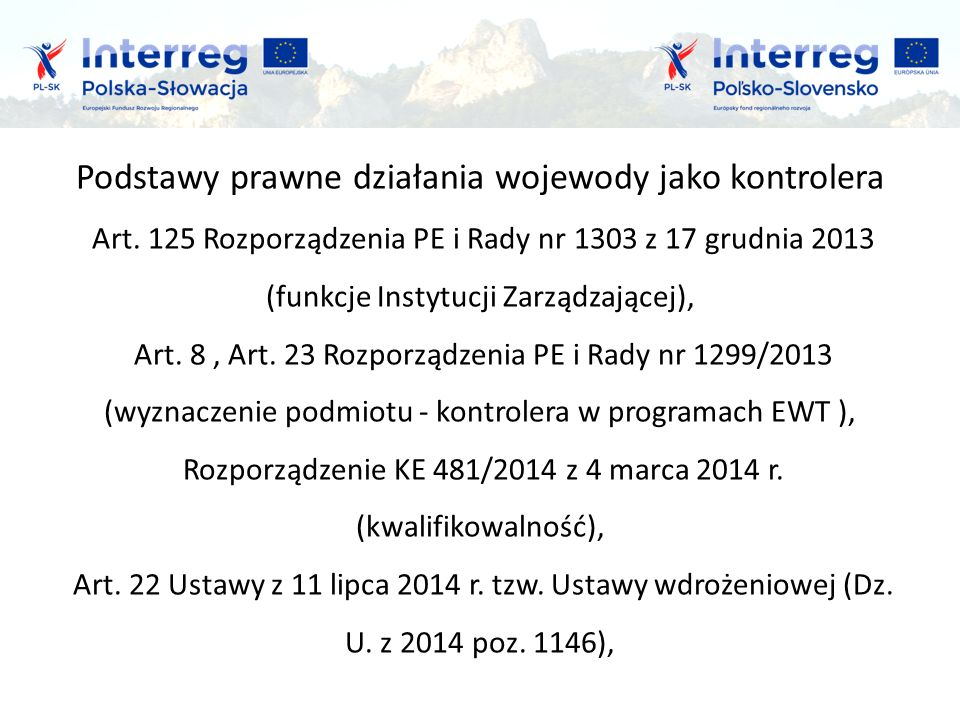 Wnioski i doświadczenia z lat 2004-2015 Polityka konkurencji c.d.