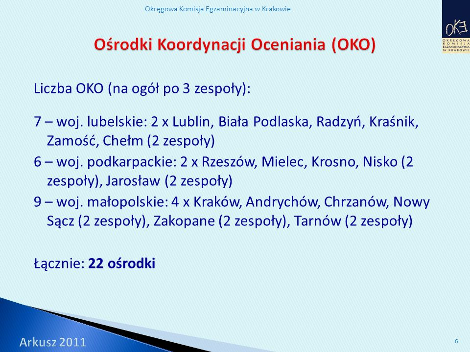 Okręgowa Komisja Egzaminacyjna w Krakowie 17 Poziom wykonania: 51% Poziom wykonania: 52% Poziom wykonania: 74% Poziom wykonania: 73%