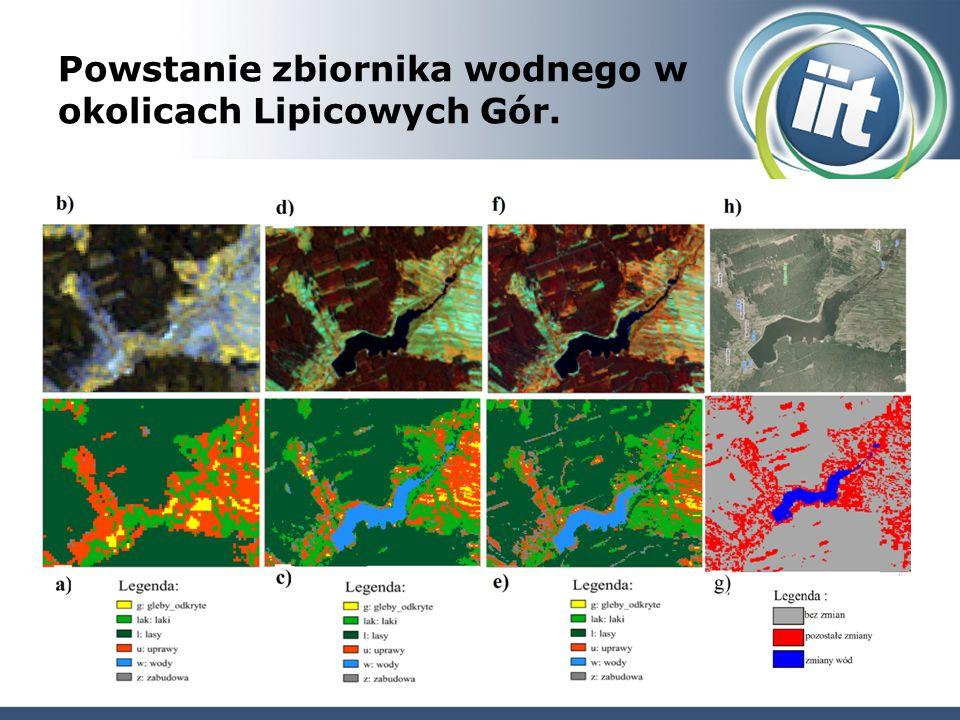 Powstanie zbiornika wodnego w okolicach Lipicowych Gór.