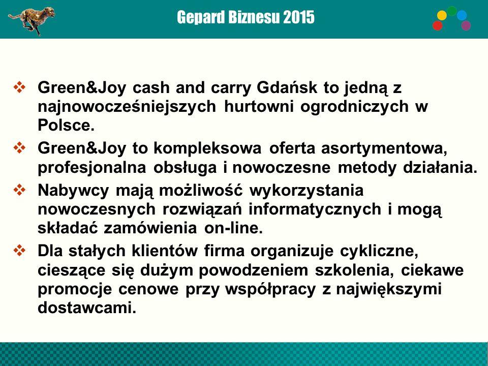  Green&Joy cash and carry Gdańsk to jedną z najnowocześniejszych hurtowni ogrodniczych w Polsce.